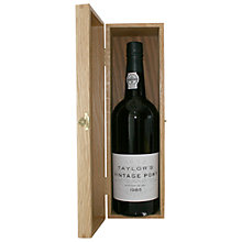 Buy Taylors 1985 Vintage Port, 75cl Online at johnlewis.com