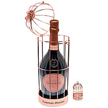 Buy Laurent-Perrier Cuvée Rosé Champagne in Birdcage, 70cl Online at johnlewis.com