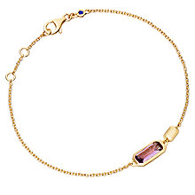 Buy Astley Clarke Prismic Amethyst Bracelet, Purple Online at johnlewis.com