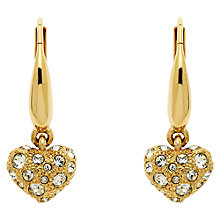 Buy Cachet London Swarovski Crystals Ona Heart Drop Earrings Online at johnlewis.com