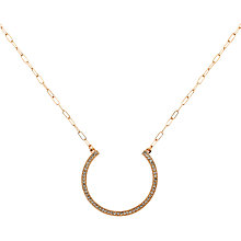 Buy Cachet London Ofira Necklace, Rose Gold Online at johnlewis.com