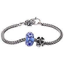 Buy Trollbeads Good Luck Sterling Silver Bracelet, Silver Online at johnlewis.com