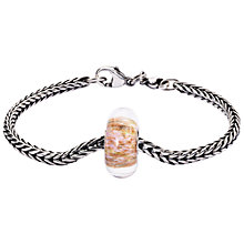 Buy Trollbeads Discover Beauty Bracelet, Silver Online at johnlewis.com