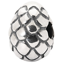 Buy Trollbeads Dragon Egg Sterling Silver Charm, Silver Online at johnlewis.com