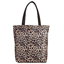 Buy John Lewis Leopard Pepple Animal Tote Bag, Multi Online at johnlewis.com