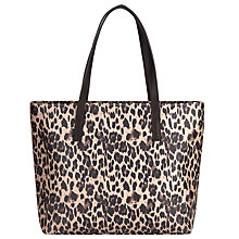 Buy John Lewis Leopard Pepple Shoulder Bag, Multi Online at johnlewis.com
