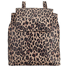 Buy John Lewis Leopard Pepple Animal Backpack, Multi Online at johnlewis.com