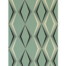 Buy Laurence Llewelyn Bowen by Graham & Brown Vintage Deco Diamond Wallpaper Online at johnlewis.com