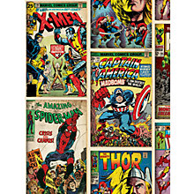Buy Graham & Brown Kids Décor Marvel Action Heroes Wallpaper Online at johnlewis.com