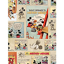 Buy Graham & Brown Kids Décor Mickey Vintage Wallpaper Online at johnlewis.com
