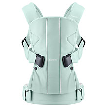 Buy BabyBjörn One Baby Carrier, Turquoise Online at johnlewis.com