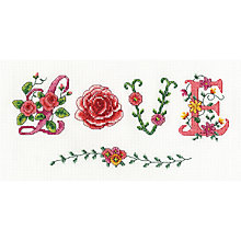 Buy Love Tapestry Kit, Multi Online at johnlewis.com