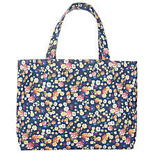 Buy John Lewis Cottage Floral Print Sewing Bag, Navy Online at johnlewis.com
