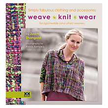Buy Weave Knit Wear Knitting Pattern Book Online at johnlewis.com