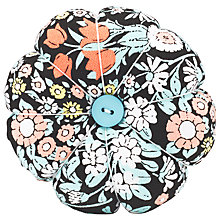 Buy John Lewis Daisy Chain Print Pin Cushion, Multi Online at johnlewis.com