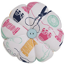 Buy John Lewis Sewing Stuff Pin Cushion, Multi Online at johnlewis.com