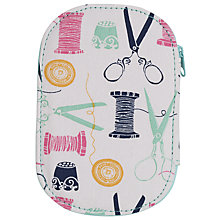 Buy John Lewis Sewing Stuff Zip Sewing Kit, Multi Online at johnlewis.com