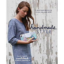 Buy Handmade Style by Anna Graham Book Online at johnlewis.com