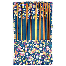 Buy John Lewis Cottage Floral Knit Roll and Knitting Needles, Blue Online at johnlewis.com