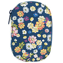 Buy John Lewis Cottage Floral Zipped Sewing Kit, Blue Online at johnlewis.com