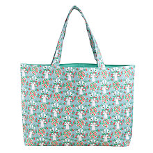Buy John Lewis Folky Birds Sewing and Craft Bag, Blue Online at johnlewis.com