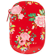 Buy John Lewis Floral Zipped Sewing Kit, Red Online at johnlewis.com