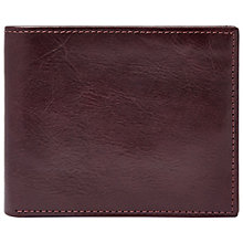 Buy Fossil Truman Bifold, Cordovan Online at johnlewis.com