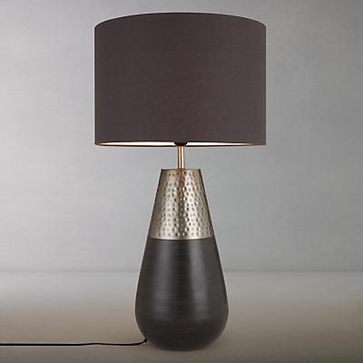 John Lewis Sumaco Mixed Finish Table Lamp