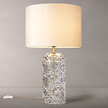 Buy John Lewis Greta Table Lamp, Cut Crystal Online at johnlewis.com