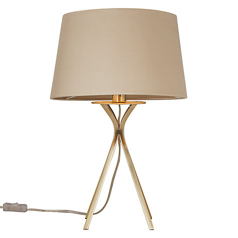 Buy John Lewis Wilfred Tripod Table Lamp