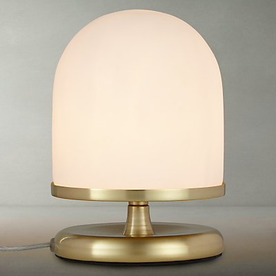 John Lewis Pod Table Lamp, Satin Brass