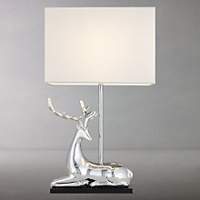 Buy John Lewis Stag Table Lamp Online at johnlewis.com
