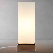 Buy John Lewis Mitch Table Lamp, Brushed Brass Finish Online at johnlewis.com