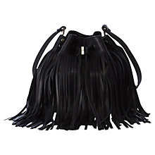 Buy Karen Millen The Melrose Handbag, Black Online at johnlewis.com
