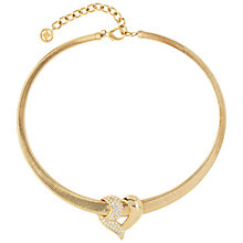 Buy Susan Caplan Vintage 1980s Givenchy Swarovski Crystal Collar Necklace, Gold Online at johnlewis.com