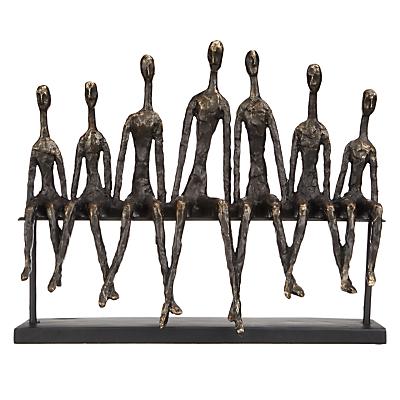 Image of Libra Friendship Bench Sculpture