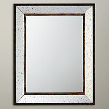 Buy John Lewis Antique Rectangular Wall Mirror, 51 x 41cm Online at johnlewis.com