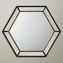 Buy John Lewis Antique Hexagonal Wall Mirror, 69 x 69cm Online at johnlewis.com