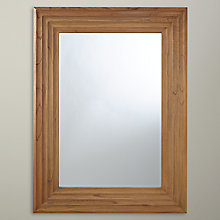 Buy John Lewis Scalloped Wooden Wall Mirror, 122 x 92cm Online at johnlewis.com