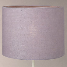 Buy John Lewis Croft Collection Herringbone Lampshade, Clover Online at johnlewis.com