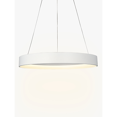 John Lewis Jorgen Hoop LED Ceiling Light, Large, White