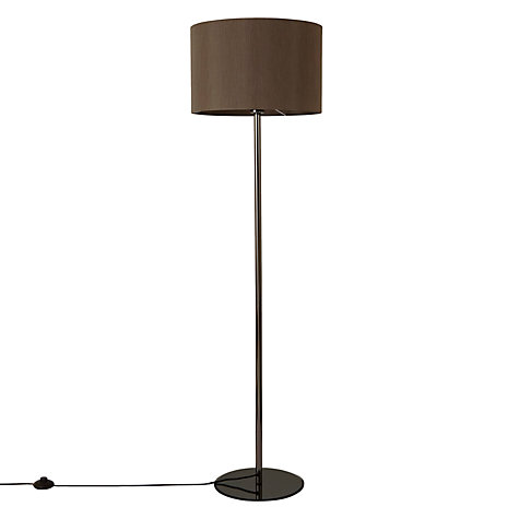 Buy john lewis presley floor lamp silver john lewis for John lewis floor lamp reading