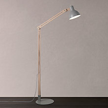 Buy John Lewis Wright Floor Lamp, Oak Online at johnlewis.com