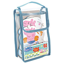 Buy Peppa Pig Bath Time Puzzles Online at johnlewis.com