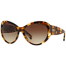 Buy Michael Kors MK2002 Waikiki Cat's Eye Sunglasses, Tortoise Online at johnlewis.com