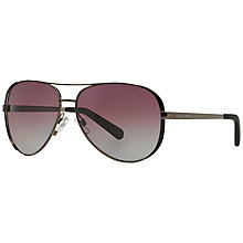 Buy Michael Kors MK5004 Chelsea Aviator Sunglasses Online at johnlewis.com