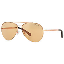 Buy Michael Kors MK1001 Gramercy Aviator Sunglasses Online at johnlewis.com