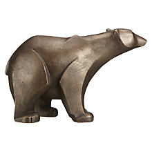 Buy Frith Polar Bear Standing Sculpture, Bronze Online at johnlewis.com