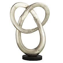 Buy Libra Romano Eternity Sculpture, Silver Online at johnlewis.com