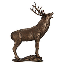 Buy Frith Large Stag Sculpture, Bronze Online at johnlewis.com